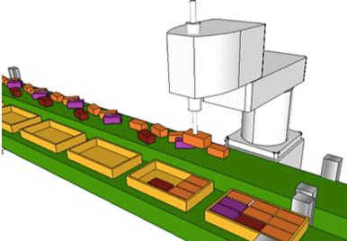 物流ソリューションのシステム構成イメージ