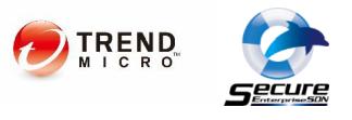 トレンドマイクロ社・アライドテレシス社ロゴ