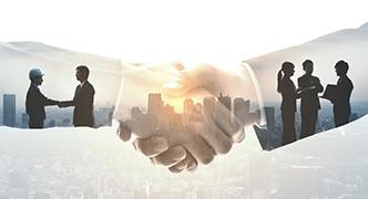 スマートファクトリー事業における当社との関係団体
